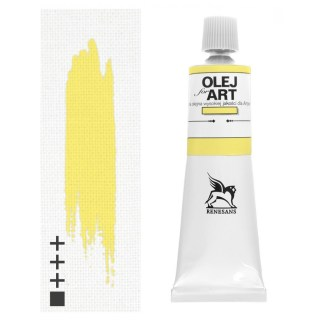 Масляная краска 04 Неаполитанский желтый светлый 60 мл Renesans Польша