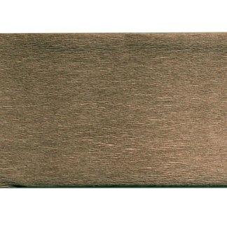 Бумага креповая коричневая 50х200 см 35 г/м.кв. «Трек» Украина