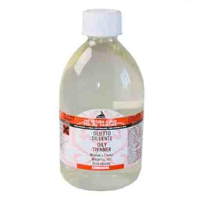 646 Разбавитель масляный 500 мл вспомогательные материалы для масляной живописи Maimeri Италия