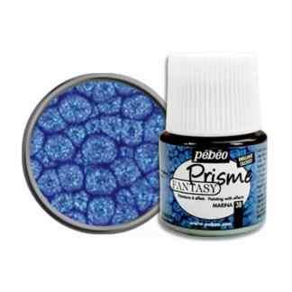 Краска лаковая Fantasy Prisme 038 Синий морской 45 мл Pebeo
