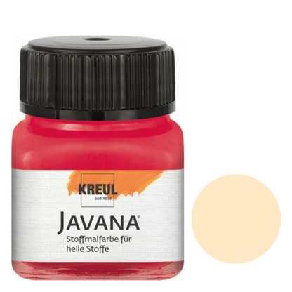 Краска по светлым тканям нерастекающаяся KR-90951 Бежевый 20 мл Sunny Javana C.KREUL