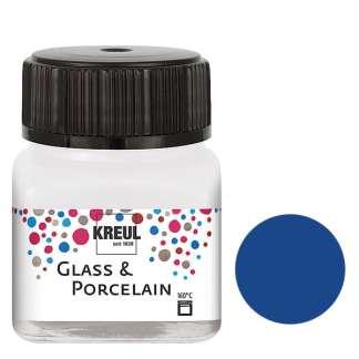 Краска по фарфору и керамике на водной основе KR-16218 Кобальтовая 20 мл Hobby Line C.KREUL