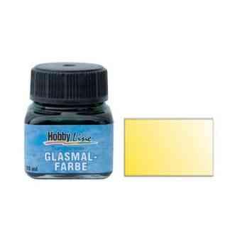 Краска для стекла лаковая прозрачная 45201 Желтая 20 мл Hobby Line C.KREUL