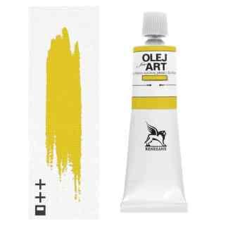 Масляная краска 09 Кадмий желтый светлый 60 мл Renesans Польша