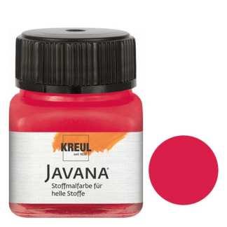 Краска по светлым тканям нерастекающаяся KR-90905 Кармин 20 мл Sunny Javana C.KREUL