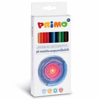 Набор акварельных карандашей Minabella 36 цветов в картонной коробке Primo Италия