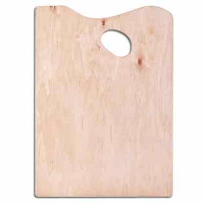 Палитра прямоугольная маленькая деревянная 22х30 см Украина