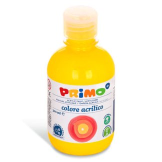 Акриловая краска 300 мл 201 желтый основной Primo Италия