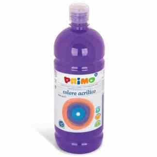 Акриловая краска 1000 мл 400 фиолетовый Primo Италия