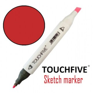 Маркер двусторонний 12 Coral Red TouchFive