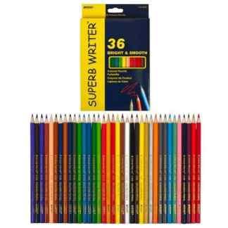 4100-36CB Карандаши цветные 36 цв. «Superb Writer» Marco