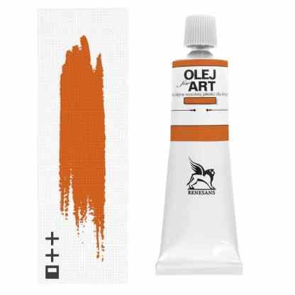 Масляная краска 12 Кадмий желто-оранжевый 60 мл Renesans Польша