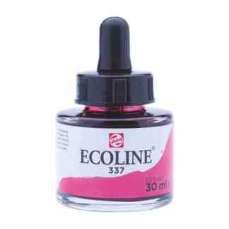 Акварельная краска жидкая Ecoline 337 Маджента 30 мл с пипеткой