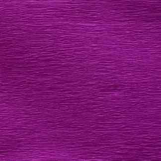 Бумага гофрированная 705406 Фиолетовая флуоресцентная 20% 26,4 г/м.кв. 50х200 см (Т)