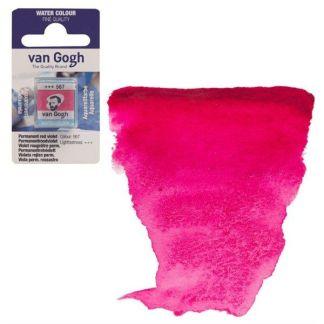 Акварельная краска Van Gogh 567 Перманентный красно-фиолетовый 2,5 мл кювета Royal Talens