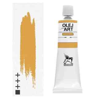 Масляная краска 13 Охра желтая 60 мл Renesans Польша