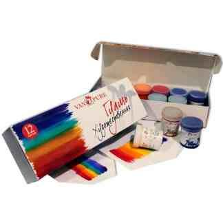 Набор гуашевых красок 12 цветов по 40 мл Van Pure