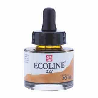 Акварельная краска жидкая Ecoline 227 Охра желтая 30 мл с пипеткой