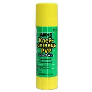 Клей-карандаш 15 г Amos