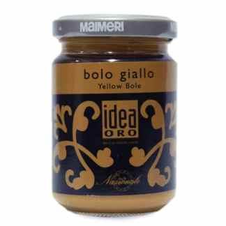 759 Полимент желтый 125 мл вспомогательные материалы для золочения Idea Oro Maimeri Италия