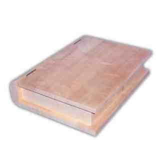 Заготовка деревянная «Шкатулка» Книжка 225х195х60 мм ольха 1,145 Украина