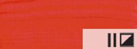 Акриловая краска 09 Алый 100 мл Renesans Польша