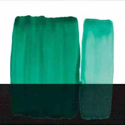 Краска для стекла 301 зеленая вода 60 мл Idea Vetro Maimeri Италия