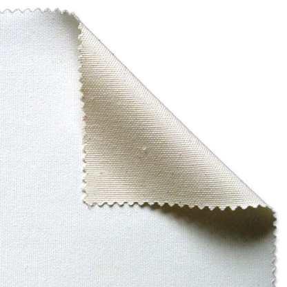 Холст грунтованный средняя зернистость хлопок универсальный грунт 10 м 210 см белый 325 г/м.кв. P.E.R. Belle Arti Италия