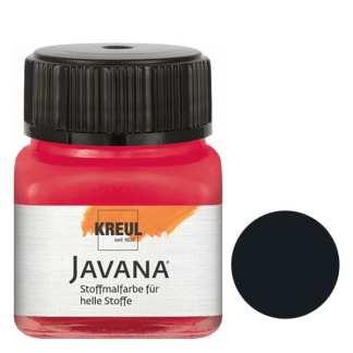 Краска по светлым тканям нерастекающаяся KR-90910 Черный 20 мл Sunny Javana C.KREUL