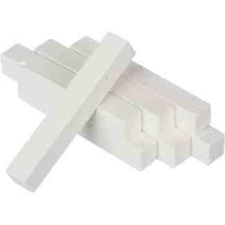 Мел белый школьный квадратный