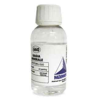 660 Уайт-спирит 100 мл вспомогательные материалы для масляной живописи Maimeri Италия