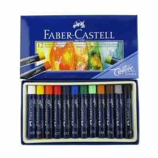 Набор масляной пастели Goldfaber 12 цветов Faber-Castell