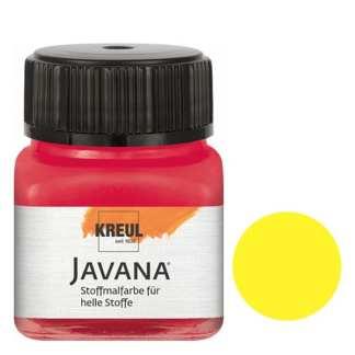 Краска по светлым тканям нерастекающаяся KR-90901 Лимонный 20 мл Sunny Javana C.KREUL