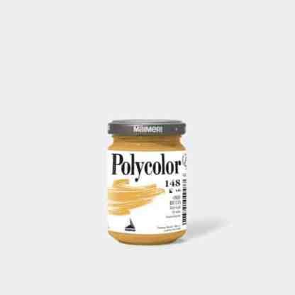 Акриловая краска Polycolor 140 мл 148 богатое золото Maimeri Италия