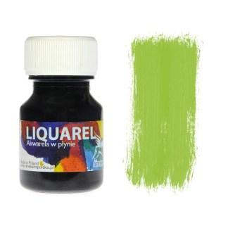 Акварельная краска жидкая Liquarel 150 Зеленый лимонный 30 мл Renesans Польша