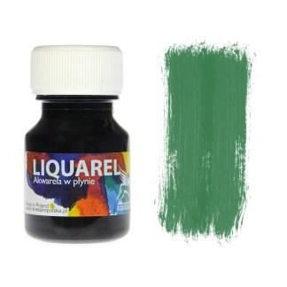 Акварельная краска жидкая Liquarel 155 Зеленый лесной 30 мл Renesans Польша