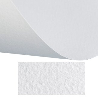 Бумага цветная для пастели Tiziano 01 bianco 50х65 см 160 г/м.кв. Fabriano Италия