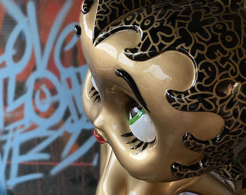 Betty Boop Goldenlicious – work in progress