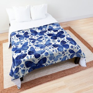 Butterfly Comforters - a hand-picked collection of designs | Design: Nic Squirrel | Source: Redbubble