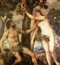 titian the fall of man 1565