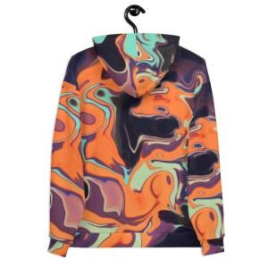 EVOLVE Multicolor Fluid Art Artist Unisex Hoodie