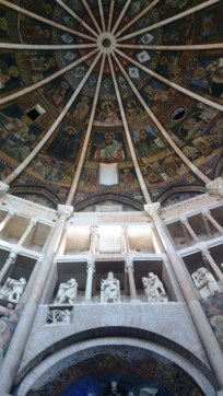 Wall and dome
