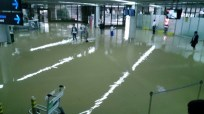 Hilarious when an airport looks and feels like a swimming pool