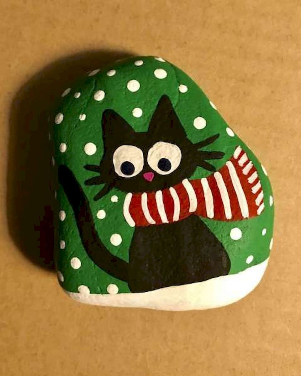 50 Easy DIY Painted Rocks Ideas Perfect For Beginners (27)