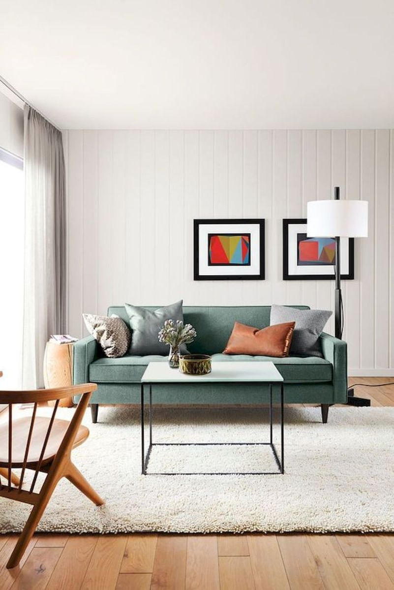 60 Living Room Decor Ideas With Artwork Coffee Tables (59)