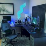 45 Awesome Computer Gaming Room Decor Ideas and Design (17)