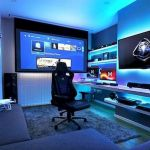 45 Awesome Computer Gaming Room Decor Ideas and Design (29)