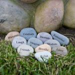45 Awesome DIY River Rock Ideas Decorations (3)