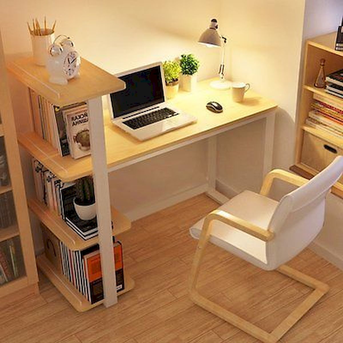 54 Wonderful DIY Computer Desk Design Ideas and Decor (7)