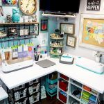 58 Fantastic Art Studio Organization Ideas and Decor (16)